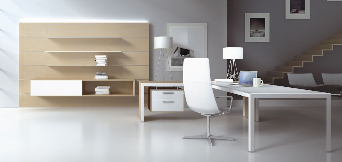 Mobilier de bureau design caray for Mobilier bureau moderne design