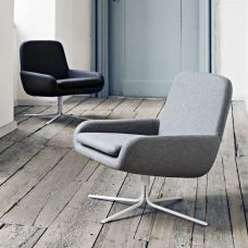 Fauteuil lounge scandinave Coco