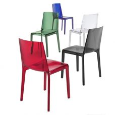 Chaise design plastique Eveline
