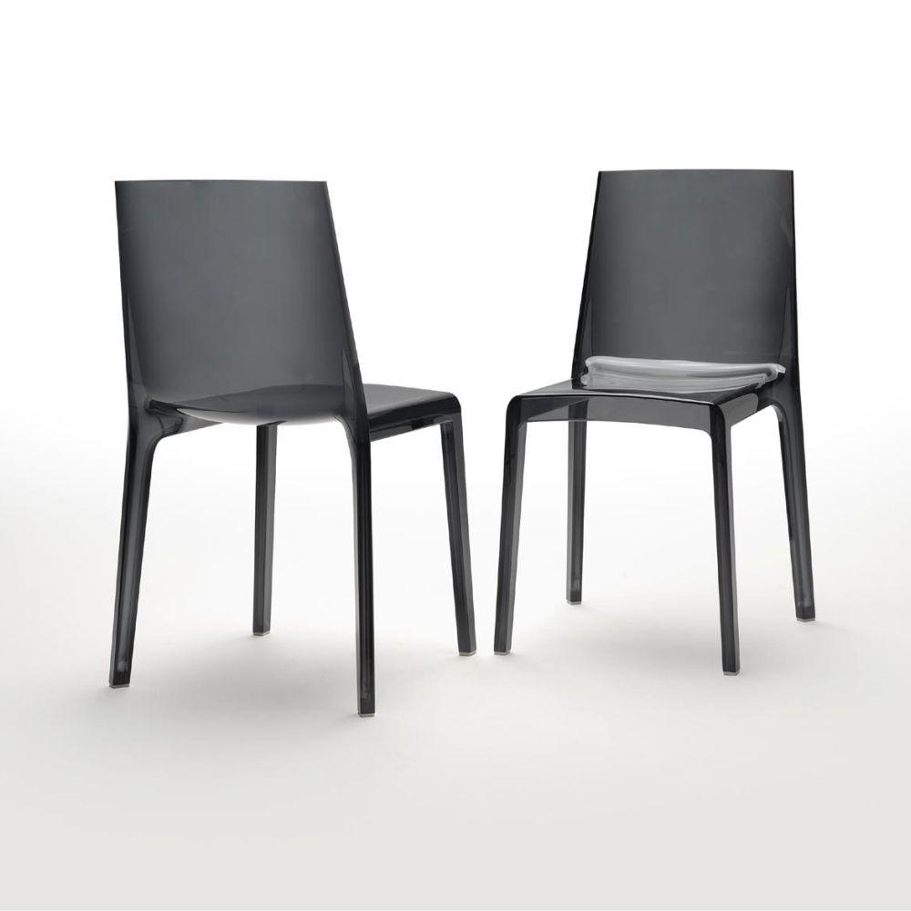 chaise design plastique eveline caray eshop. Black Bedroom Furniture Sets. Home Design Ideas