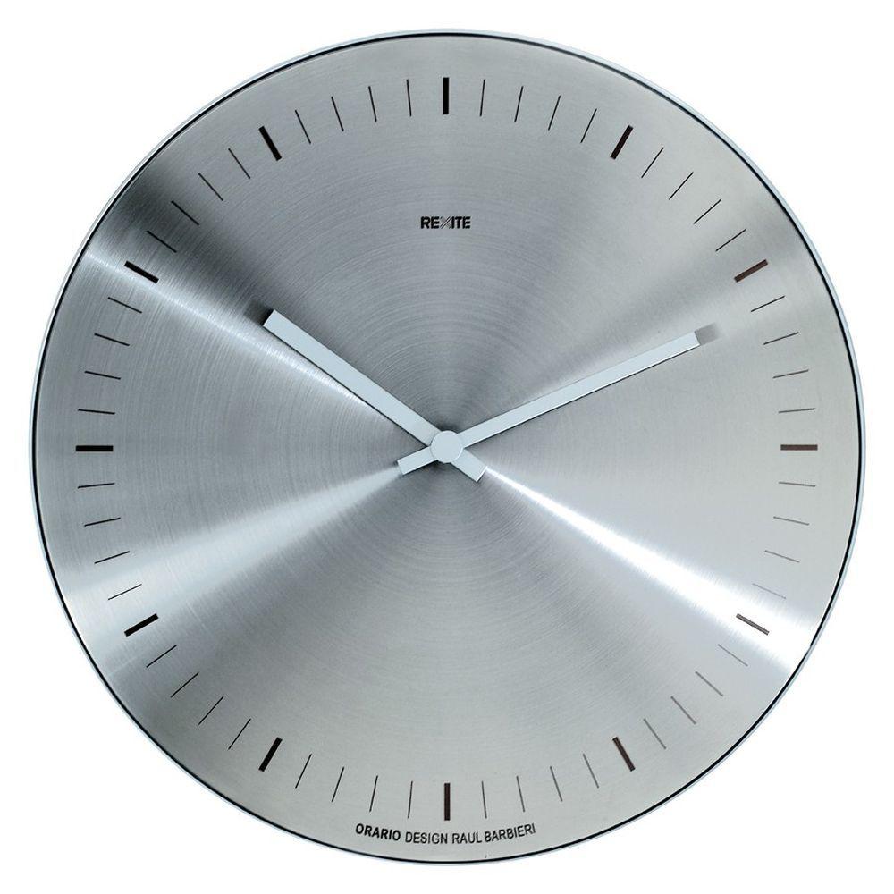 Horloge murale orario inox caray eshop for Horloge murale inox