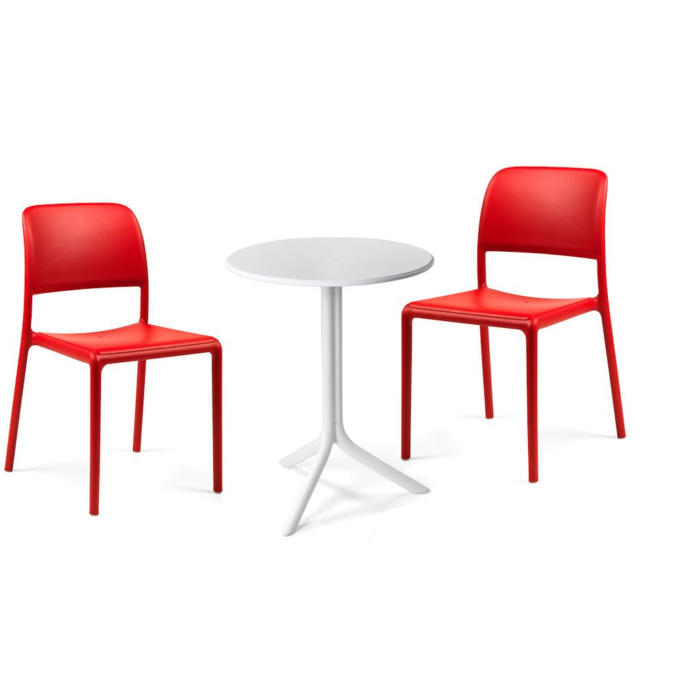 chaise plastique design cafeteria. Black Bedroom Furniture Sets. Home Design Ideas