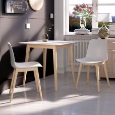 EDEN Chair with Wood legs