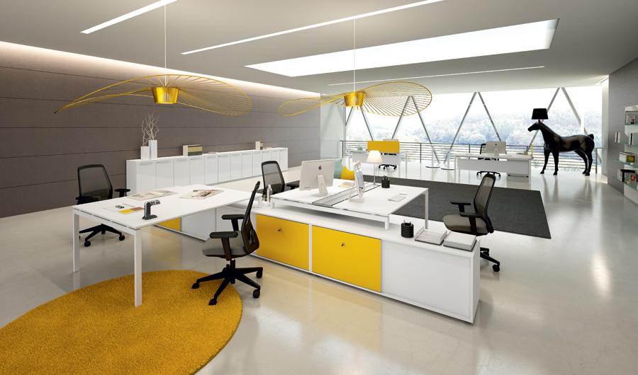 Espace Travail Collaboratif Jeu Accueil Design Et Mobilier
